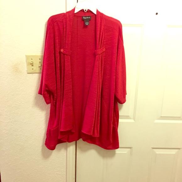 Maggie Barnes Jackets & Blazers - Red Jacket